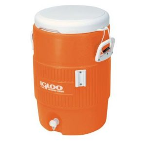 5 Gal Orange Water Cooler